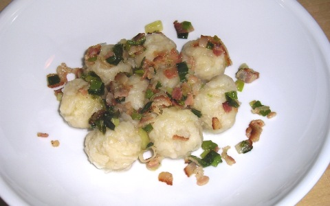 No-Fuss Potato Dumplings