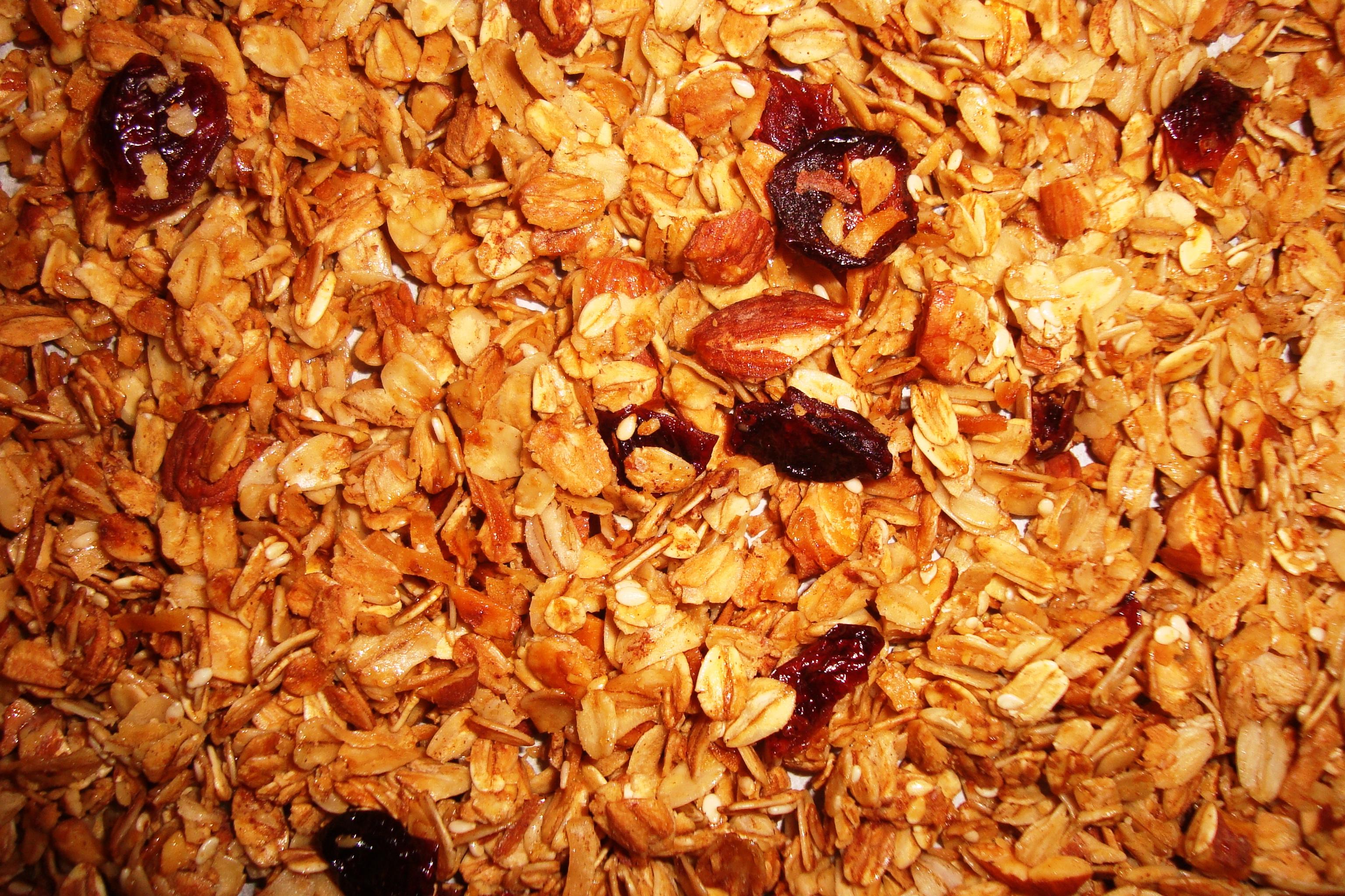 Cranberry, Coconut & Cinnamon Granola